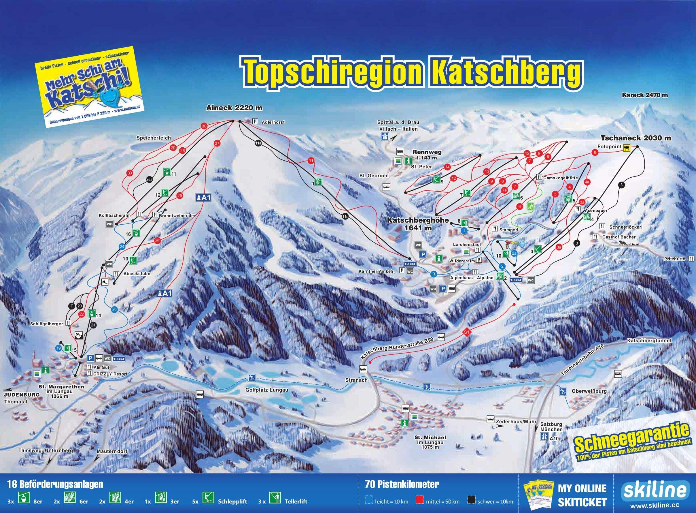Katschberg-Aineck Piste