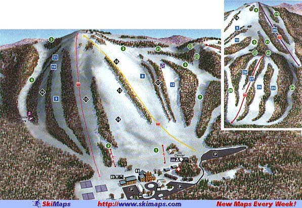 Shanty Creek Piste / Trail Map