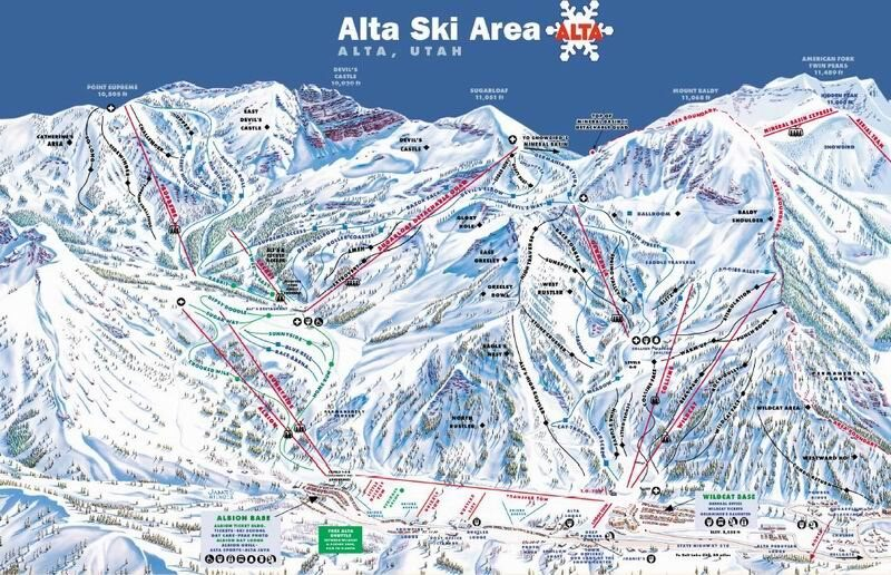 Alta Piste / Trail Map