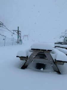 Fresh July Snowfall on Four Continents, North and South of The Equator